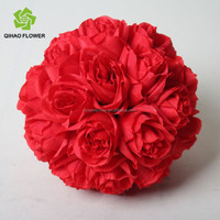 Wholesale artificial flowers ball,rose flowers ball for sale