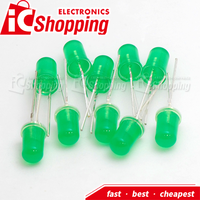 Wholesale ICShopping green round Super Bright Low Power Consumption 5mm Led Diode