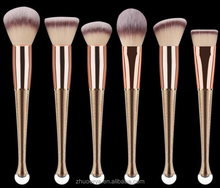 Mermaid Makeup Brush Set 6pcs SetOval Toothbrush Makeup Brush
