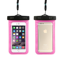 Wholesale PVC waterproof dry bag cell phone case for universal mobile phones