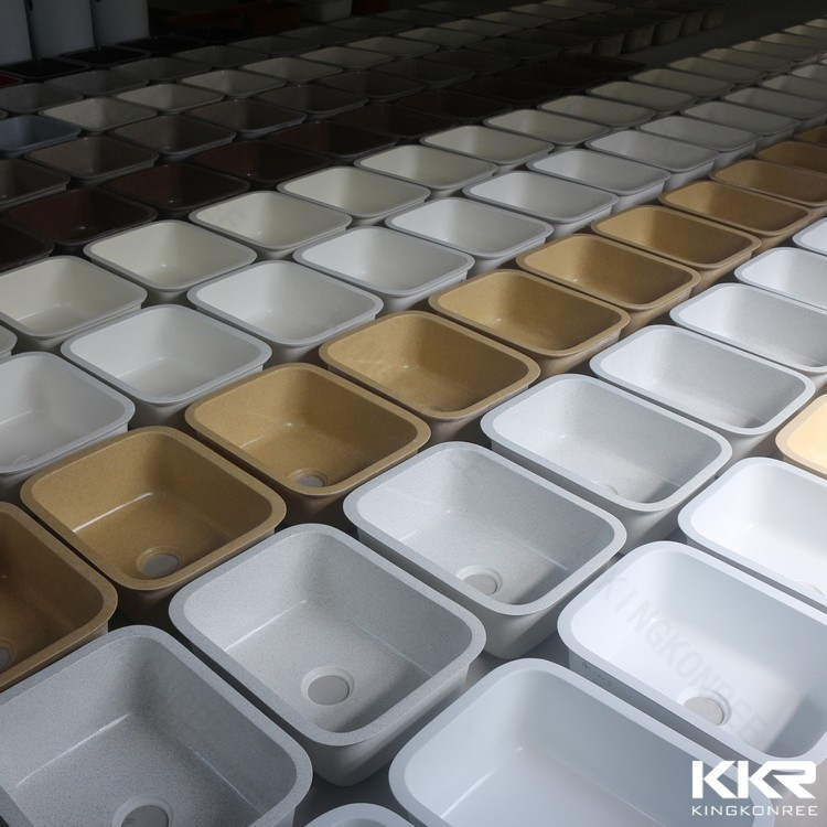 Top quality resin stone unique philippines kitchen sink