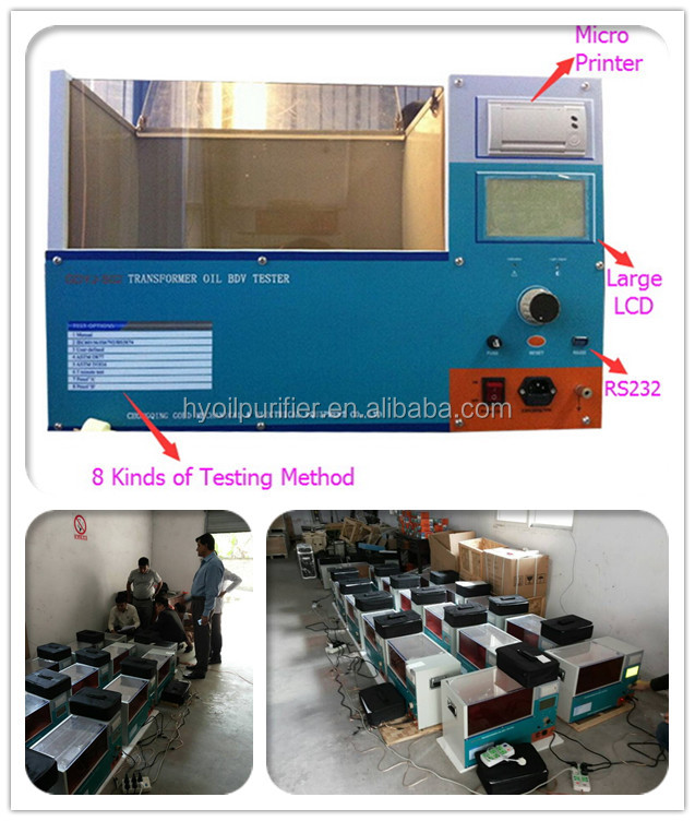 Transformer Oil Laboratory Transformer Oil Test Equipment / Testing Kit