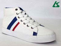 High cut wholesale canvas shoes for girls