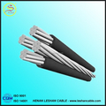 Aluminum, ACSR, AAC Conductor XLPE PVC overhead Aerial Bundled Cable ABC Cable