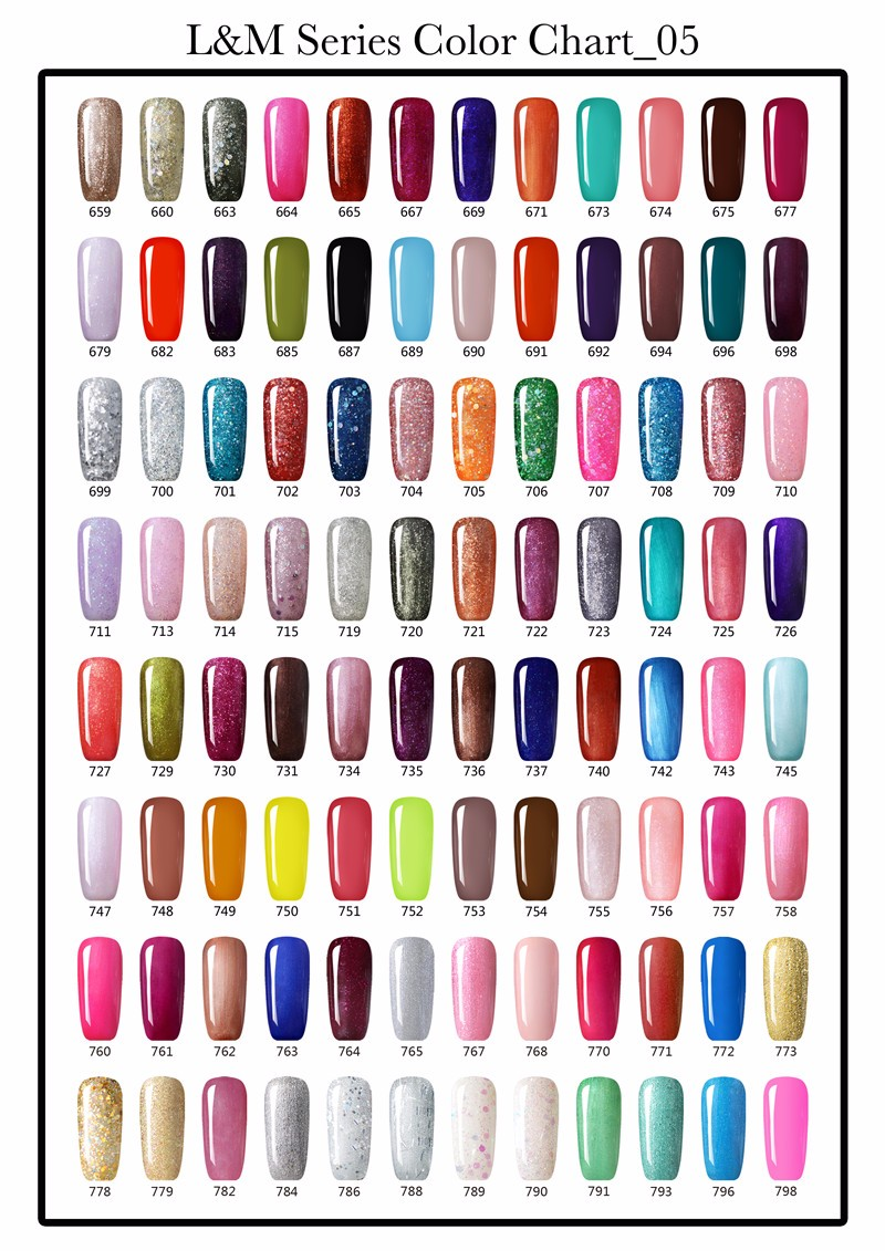 Lvmay Hot Sale Color Gel Soak Off UV Nail Gel Polish