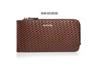 Top Brand designer leather wallets for man many card slots men wallet