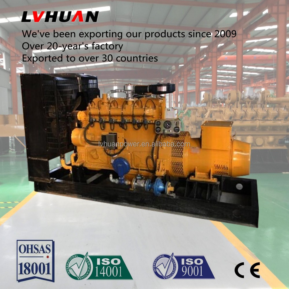 Good Engine 50Hz natural gas generator set with Mute compartments fo Russia 100KW