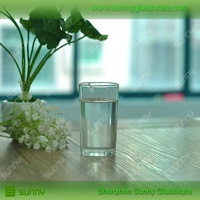 8oz Round Tempering Glass Tumbler with for Drinking Water Cup