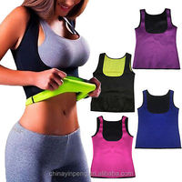 sweat suits women Waist Trainer Tummy Fat Burner Sweat Tank Top Weight Loss Shapewear Neoprene
