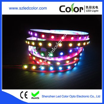 2016 Energy Saving And Color Change Led Strip Apa102 Ic Built In ...
