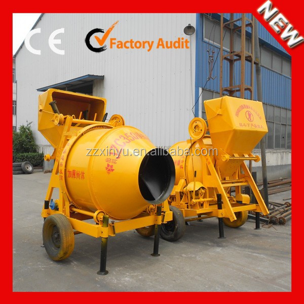 best price JZC 350 gear rolling Concrete Mixer With LOW Price For Sale