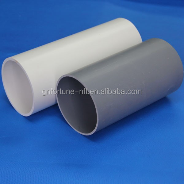 8 inch pvc drain pipe drainage pipe underground water pipe for Water pipe material
