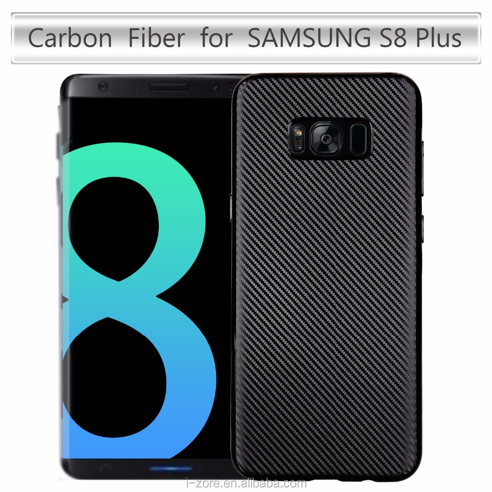 Carbon Fiber Celular For Samsung S8 Plus Cover Free Sample TPU Samsung S8 Plus Case