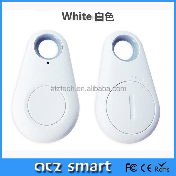 ATZ Plastic Material Bluetooth Tracking Tracker Bag Wallet Key Finder GPS Alarm for Smart Phone