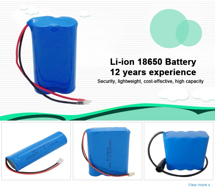 Geilienergy Rechargeable 14.8V 2600mAh Li-ion 18650 Battery Pack For wireless Electric Mop