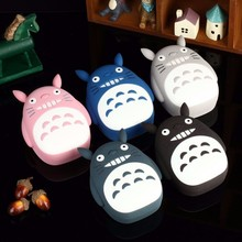 Totoro Power Bank 18650 Carton 8000mAh Portable Charger Powerbank USB External Battery Backup Battery for iphone