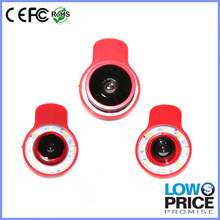 flash light multifunctional professional filing light fisheye lens selfie flash