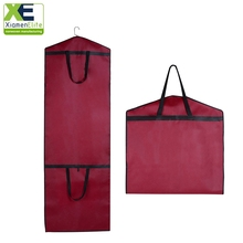 Non woven wedding dress clothes cloth coat cover, garment bag suit cover woven for clothes