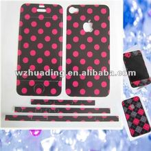 full cover mobile phone skin carbon fiber vinyl sticker