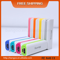 China manufacturer portable battery pack 2000Mah Gift mobile phone chargers