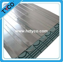 Underfloor heating systems for floor