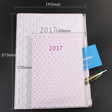 2017 new design PVC cover notebook