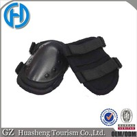 Tactical black knee and elbow protective pads for outdoor skate