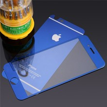 New for 2016 Anti-fingerprint 9H 2.5D Tempered Glass Phone Screen Protector Film 9H For iPhone4 4s 5 5s 6 6s
