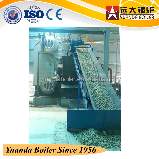 industrial biomass steam vaporizer for food & beverage processing machines