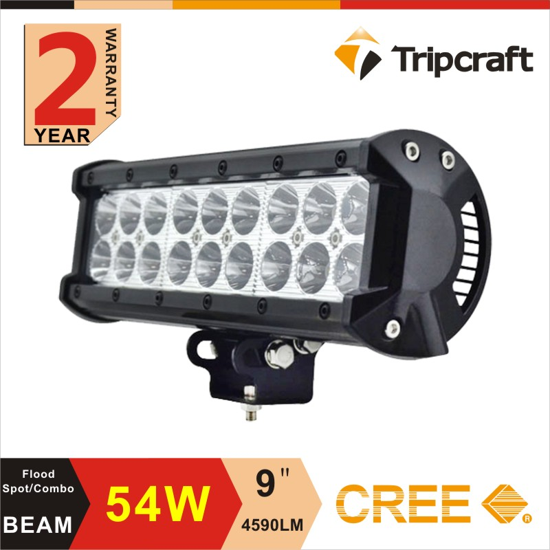 2016 Hot Sale! 18W 36W 54w 72W 90w 108W 126W 198W 234W C ree 12V LED Offroad Work Light Bar for SUV, UTV, ATV