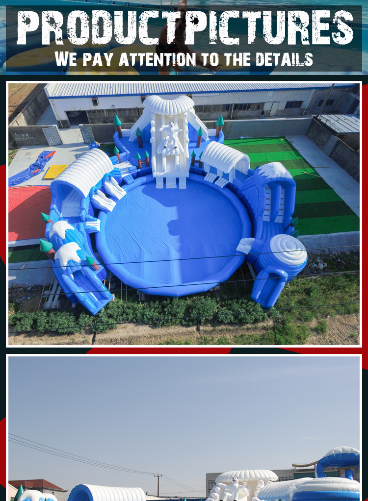2017 trending inflatable products water park