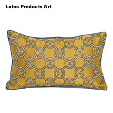 Special Malaysia Black And Gold Large Square Organic Pillow Cases