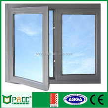 Australia Standard White Aluminum Frame Casement Window Made By Factory