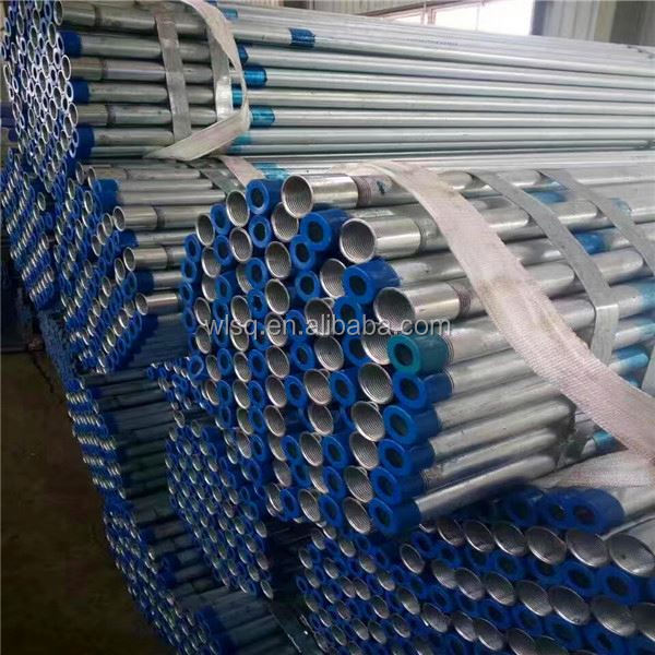 Quality ensurance galvanized drilling square steel pipe price per meter