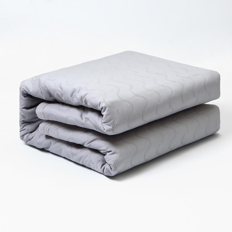 Lonmon Grey polyester water heating blanket remote control electric mattress - Jozy Mattress | Jozy.net