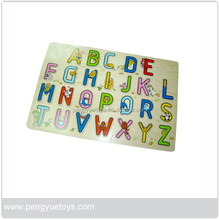 Wooden Alphabet learning Toy Puzzle for preschoolers