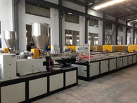 PVC WPC profile making machine