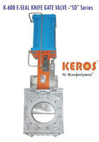 K 600 - E-Seal Knife Gate Valve Slim Design - SD