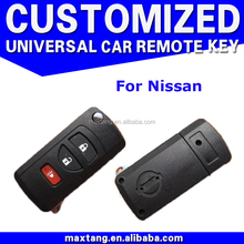 4 Buttons Remote Key Shell Case Smart Key Housing Cover Keyless Entry For Tiida LIVINA X-Trail QASHQAI