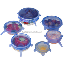 Hot Sale in US Factory price Multi-size Silicone Stretch Lid Cover
