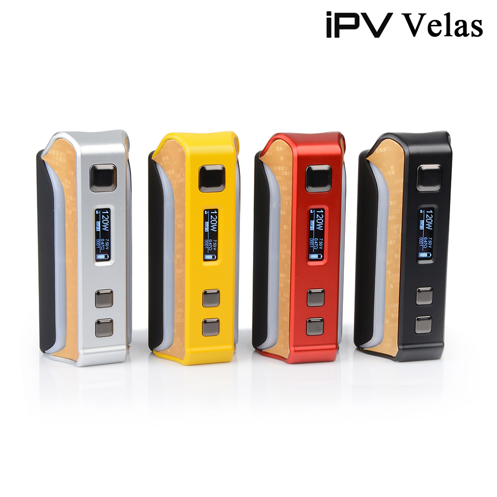 2017 the newest temp control mod iPV Velas 120watt ipv hottest box mod Pioneer4you SXi-Q ipv velas