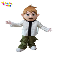 Enjoyment CE cartoon character adults Ben 10 Mascot costume for party