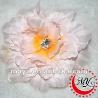 Large flower hair clips for girls and girls flower brooch