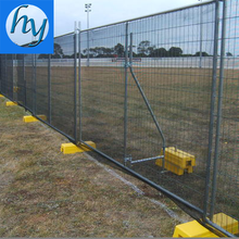 Factory Rubber Base Temporary Fence For Sale