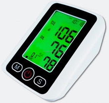 arm cuff type automatic blood pressure apparatus digital blood pressure monitor for kids