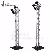 Exhibition Mini Spigot Fair Aluminum Lighting Line Array Lift Tower Steel Flat Background Truss On Sale