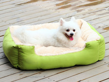 Luxury Supper Soft Round warm winter pet beds dog kennel