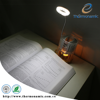 A LED Lamp Powered by a Tea Candle, Not Electricity ; No Battery