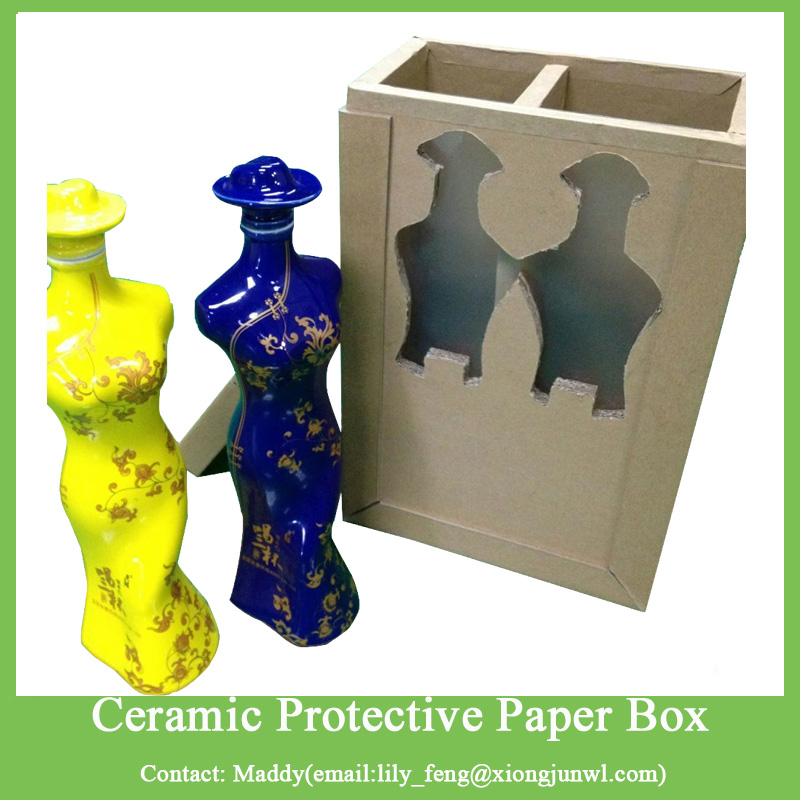 Ecofriendly Fragile Ceramics Protective Custom Size Honeycomb Paper Box Cushion