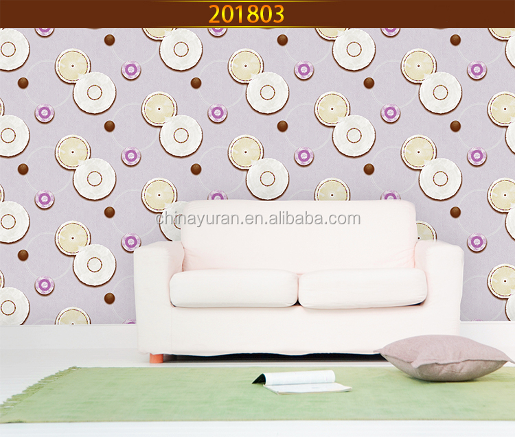 The Latest Design Exquisite Floral Wall Paper/Wallpaper